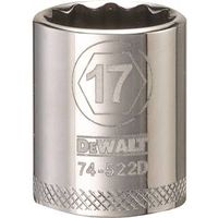 SOCKET 3/8 DRIVE 12PT 17MM