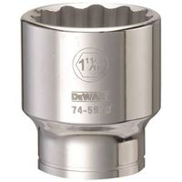 SOCKET 3/4DRIVE 12PT 1-11/16IN