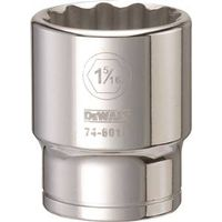 SOCKET 3/4DRIVE 12PT 1-5/16IN
