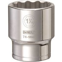 SOCKET 3/4DRIVE 12PT 1-7/16IN