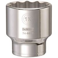 SOCKET 3/4DRIVE 12PT 1-7/8IN