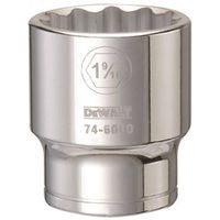 SOCKET 3/4DRIVE 12PT 1-9/16IN