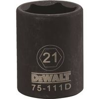 SOCKET IMPACT 1/2DR 6PT 21MM