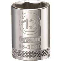 SOCKET 3/8 DRIVE 6PT 13MM