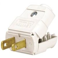 Leviton 016-00101-0WP Light Duty Polarized Electrical Plug