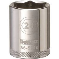 SOCKET 1/2 DRIVE 6PT 24MM
