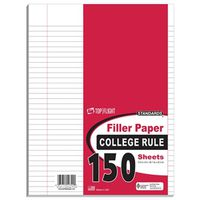 FILLER PAPER COLLGE RULE 150CT