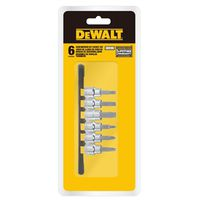 DRIVE BIT SCREW 3/8 DRIVE 6PC