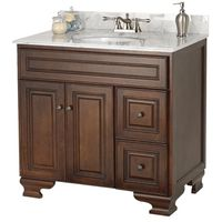 VANITY BATH HAWTHORNE 36X21IN