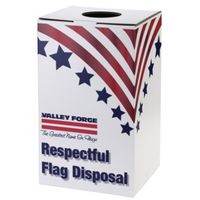 BOX FLAG DISPOSAL 24IN