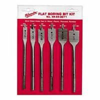 Milwaukee 49-22-0071 Flat Boring Bit Set