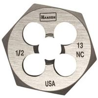 Hanson 6849 Machine Screw Hexagonal Die