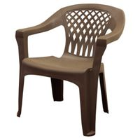 CHAIR STACK EARTH BROWN 350LB