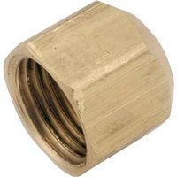 Anderson Metal 754040-08 Brass Flare Cap