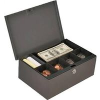 BOX CASH W/KEY 11.54X7.8X4.34