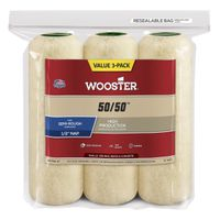 COVER ROLLER 1/2INX9IN 3 PACK