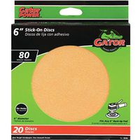 Gator Red Resin 3245 Stick-On Sanding Disc