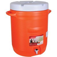 COOLER WATER 10GAL ORANGE