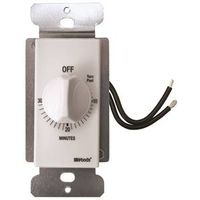 Woods 59714 In-Wall Indoor Spring Wound Timer