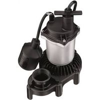 Simer 2975PC Submersible Sump Pump With Tethered Float Switch