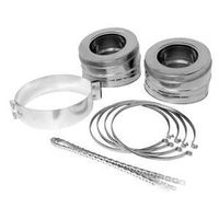 Supervent Jm7s6 Insulated Chimney Pipe 6 In Stainless Steel