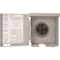 Connecticut PS-54-HR Weatherproof Power Outlet Panel