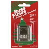 Bussmann MAS-3X5 Electronic Fast Acting Fuse with Clip Strips