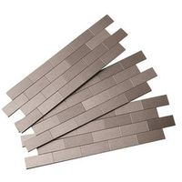 Aspect F95-50 Subway Matted Peel and Stick Wall Tile