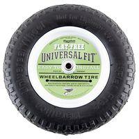 Arnold 00270 Center Hubbed Flat Free Wheelbarrow Tire