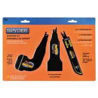 Spyder 900305 Reciprocating Saw Blade Starter Kit