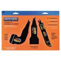 Spyder 900305 Reciprocating Saw Blade Starter Kit