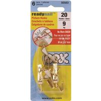 OOK 50583 Ready Nail Conventional Hook Picture Hanger