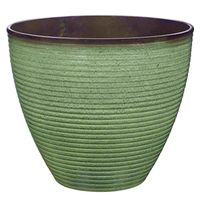 PLANTER WAVE RSN 14.75X12.5IN