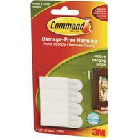 Command 17202 Small Removable Interlocking Fastener