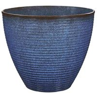 PLANTER WAVE RESIN 17.75X15IN