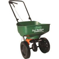 Turf Builder EdgeGuard 75121 Mini Broadcast Spreader