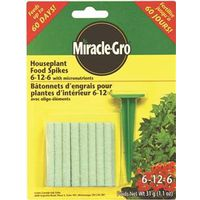Miracle-Gro 110252 Houseplant Food Spike