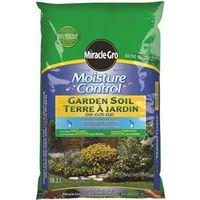 Miracle-Gro Moisture Control 73628300 Garden Soil