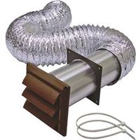 Lambro 1369B Louvered Dryer Vent Kit