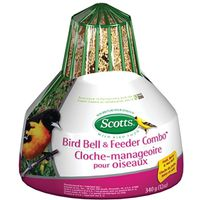 Scotts 1022445 Bird Bell and Feeder