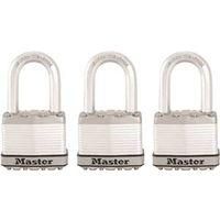 Master Lock M5XTRILF Laminated Padlock