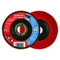 FLAP DISC 4-1/2 40G CN NO HUB