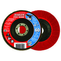 FLAP DISC 4-1/2 60G CN NO HUB