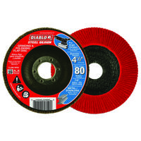 FLAP DISC 4-1/2 80G CN NO HUB