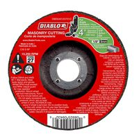 CUTOFF DISC MASONRY DC 4 IN