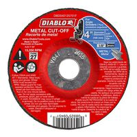 CUTOFF DISC METAL DC 4 IN