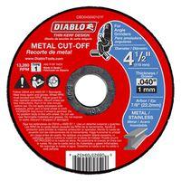 CUTOFF DISC MTL THN KERF 4-1/2