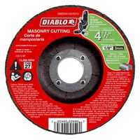 CUTOFF DISC MASONRY DC 4-1/2IN