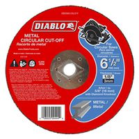 CUTOFF DISC METAL 6-1/2 IN