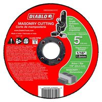 CUTOFF DISC MASONRY 5 IN